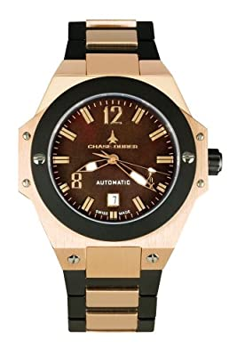 Chase-Durer Men's 881.88NP-BRA Conquest Automatic Limited Edition No. 2 18K Rose Gold-Plated Watch