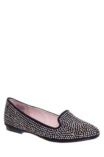 Wanted Confetti Studded Smoking Slipper