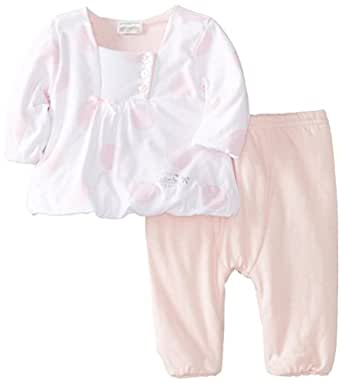 ABSORBA Baby Girls Newborn G Love Pant Set Pink 3 6
