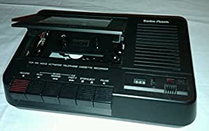 Amazon Com Radio Shack Telephone Cassette Recorder Voice