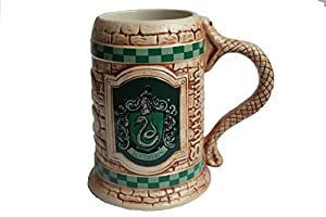 Harry Potter Slytherin House Ceramic Mug Official Warner Bros. Studio Tour London Merchandise