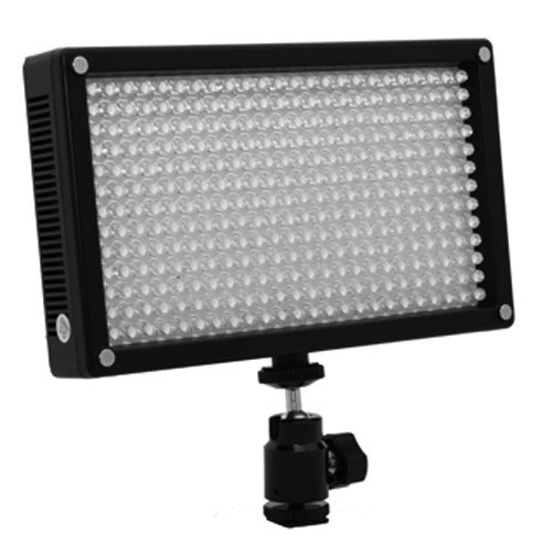 312As Bi-Color Changing Dimmable Led Video Light Panel With Magnetic Filter Plate