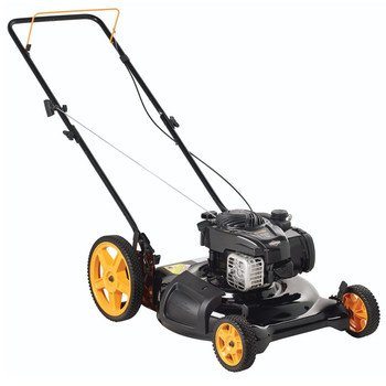Poulan Pro 961120131 PR500N21SH Briggs 500ex Side Discharge/Mulch 2-in-1 Hi-Wheel Push Mower in 21-Inch Deck