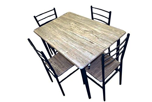 Handi-Craft 5 Piece Dining Set w/Table and 4 Chairs (Kitchen Table And Chairs For 4 compare prices)