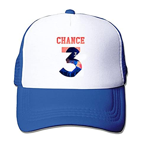 Chance 3 Coloring Unisex Adjustment Mesh Trucker Cap Hat SkyBlue (5 colors)