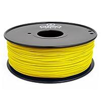 Gizmo Dorks 3mm HIPS Filament 1kg / 2.2lb for 3D Printers, Yellow from Gizmo Dorks
