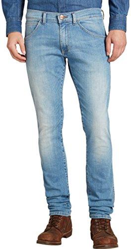 Wrangler Bryson - Vaqueros para hombre, color azul, talla W30/L34