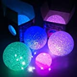 Gift Idea AYOZEN LED Crystal ball Color Changing Light LED Candle Light Night Light PricePiece