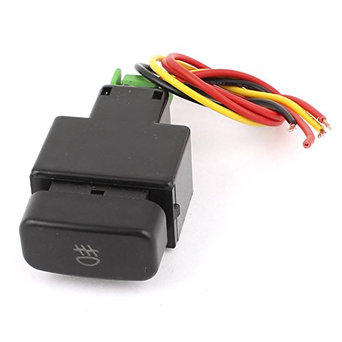 uxcell DC12V Red Lamp 4 Wire Latching Fog Light Switch for Mitsubishi Galant (Mitsubishi Fog Lamp compare prices)