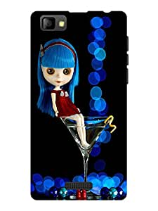 TREECASE Designer Printed Soft Silicone Back Case Cover For Reliance Jio Lyf Flame 8