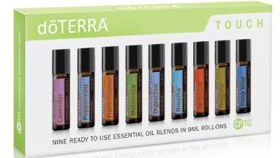 doTERRA Touch - Nine Ready to use Essential Oil Blends in 9
