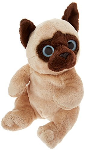 "Ganz 6.5"" Siamese Cat Plush Toy"
