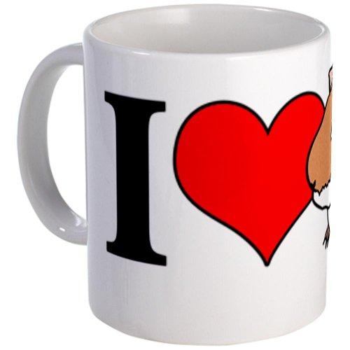 I Heart Guinea Pigs Mug Mug By Cafepress