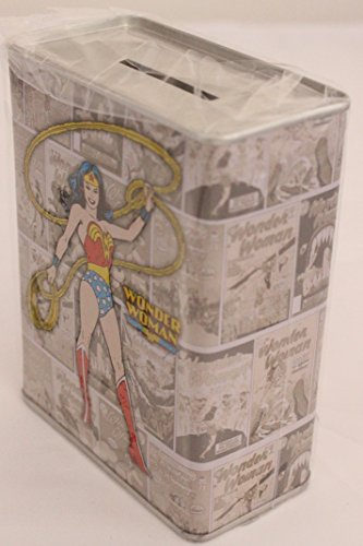 Wonder Woman Tin Bank