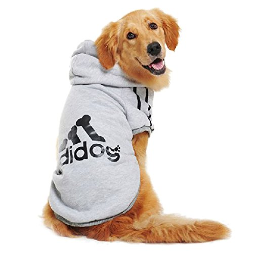 Starsource Dogs Cats Pet Cotton Warm Clothes Hoodie Coat Puppy Apparel Shirt Sport Clothing Outwear Apparel Costume,6 Colors Avaliable