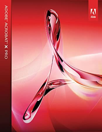 Adobe Acrobat X Professional for Mac  [Download]