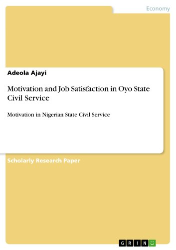 employees motivation in the nigerian polytechnic Impact of motivation on job performance in nigeria broadcast industry  moshood abiola polytechnic, nigeria  nigerian employees in broadcast media.