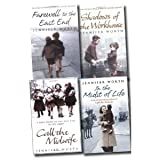 Jennifer Worth Collection 4 Books Set (Farewell To The East End: The Last Days of the East End Midwives, Call The Midwife: A True Story Of The East End In The 1950s, Shadows Of The Workhouse: The Drama Of Life In Postwar London, In the Midst of Life)by Jennifer Worth