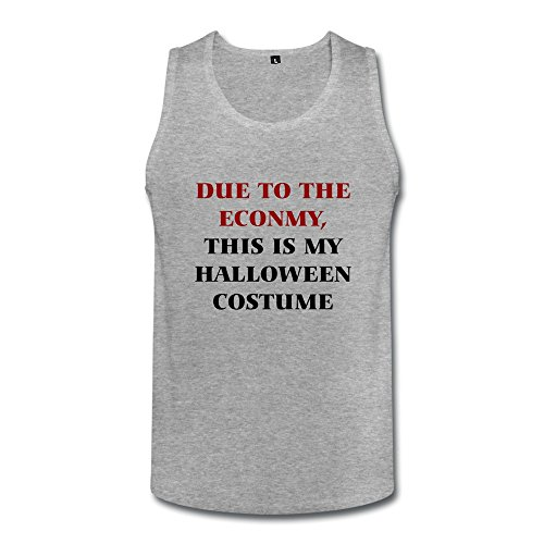 AMIN Men This Is My Halloween Costume Tank Top