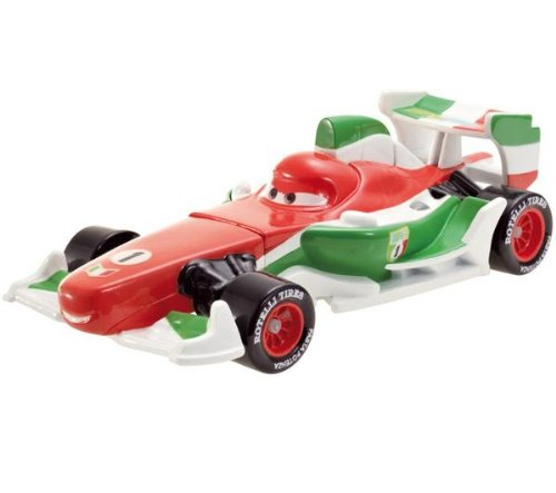 Disney / Pixar CARS 2 Movie 155 Quick Changers Race Francesco Bernoulli with Crash Damage - 1