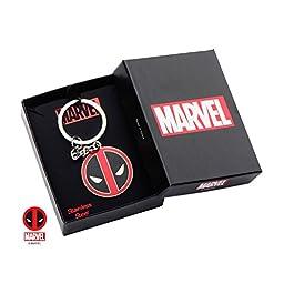 Marvel Deadpool Stainless Steel Keychain