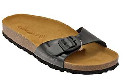 Grunland Cb0029 Anatomic Buckle Slippers New Size.