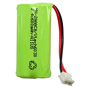 Hitech - Replacement Cordless Phone Battery for Some AT&T, GE, Motorola, and RCA Phones, Including: 3101, 27902, T31, 27902