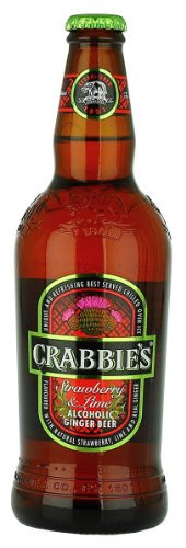 Crabbies - Crabbies Strawberry and Lime Alcoholic Ginger Beer - United Kingdom - Edinburgh - 4%
