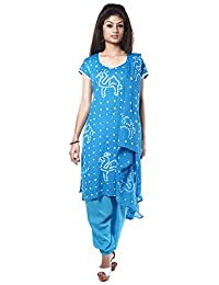 NITARA Women's Cotton Stitched Salwar Suit Sets