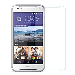 SNOOGG PACK OF 10 HTC Desire 830 Dual Sim - Black Gold Screen Protector, Premium Oil Resistant Coated Tempered Glass Screen Protector Film Guard Anti-explosion