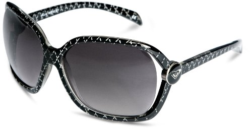 Roxy Madone Wrap Women's Sunglasses Black/Grey/Grey