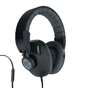 JLab Bombora Over the Ear Headphones with Universal Mic - Midnight Black / Gunmetal