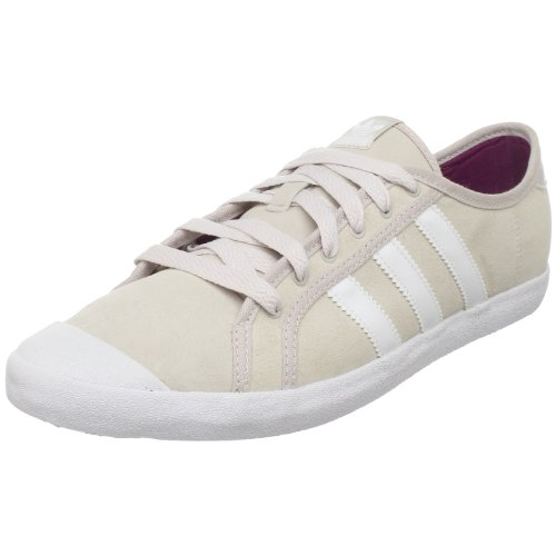 adidas Originals Women's Adria Lo Sleek Sneaker,Powder/White/Ultra Beauty,8 M US