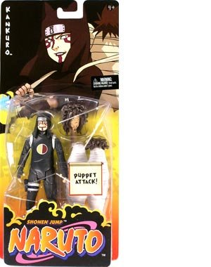 Naruto : Kankuro Mattel Basic Action Figure