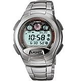 Casio カシオ Men's W755D-1AV Classic Silver-Tone Band スポーツウォッチ 男性用 メンズ 腕時計 (並行輸入)