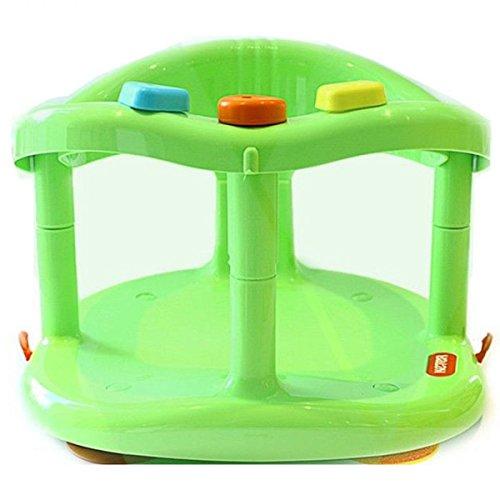 Keter Baby Bath Tub Ring Seat Anti Slip Chair Bathtub Tub (Green) Reviews