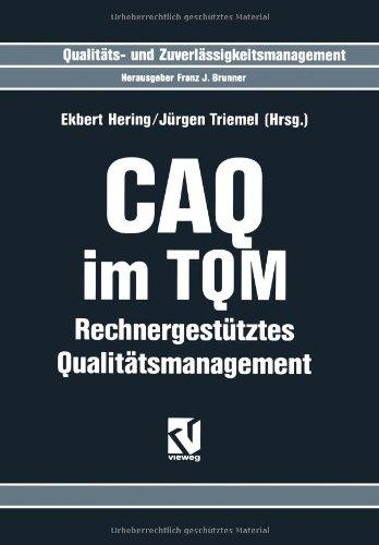 Sale alerts for Vieweg+Teubner Verlag CAQ im TQM: Rechnergestütztes Qualitätsmanagement - Covvet