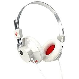 TELEFUNKEN Elektroakustik Hancock White   Over Ear Noise Isolating Metal Headphone