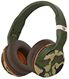Skullcandy Hesh 2.0 Over-Ear Bluetooth Wireless Headphones with Volume Control - Camo/Olive