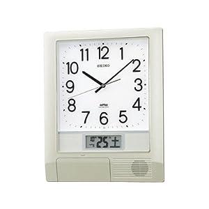 [セイコー]SEIKO 電波時計 プログラムクロック オフィスタイプ 掛け時計 PT201S