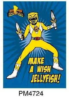 Magnet - Power Rangers - Yellow Ranger