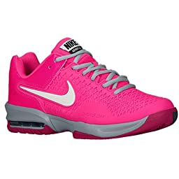 Women\'s Nike Air Max Cage Tennis Shoe. Size 11.5. HYPER PINK/IVORY-LIGHT-MAGNET-GRAY/FUCHSIA FORCE