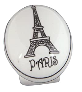 Atlas Homewares 3141 1-Inch Paris Ceramic Knob, Ceramic