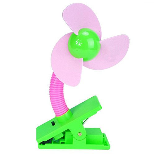 Wowlife Baby Mini Stroller Fan, Assorted Color