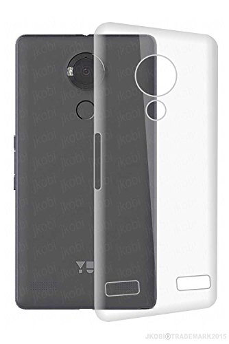 Jkobi Exclusive Soft Silicone TPU Jelly Crystal Clear Case Soft Back Case Cover For YU Yureka Note (YU6000) -Transparent