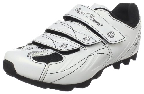 Pearl iZUMi Women's All-Road Cycling Shoe,White/Silver,39 M EU / US Women's 7 M