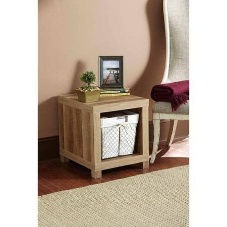 Better Homes and Gardens Accent Table, Weathered (Better Homes And Gardens Table compare prices)
