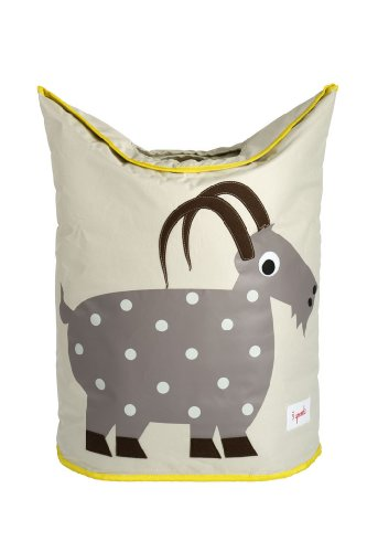 Review 3 Sprouts Laundry Hamper, Goat