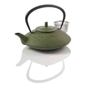 Teavana Small Dragonfly Cast Iron Teapot Green Teapots