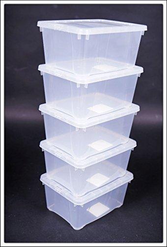Klarsichtbox-mit-Deckel-3-Gren-3er-und-5er-Sets-33x20x11-5er-Set